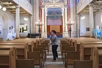 Výstava k benefiční aukci Hospice svatého Lazara.