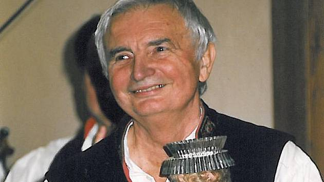 Dudák, skladatel, folklorista a rozhlasový redaktor Zdeněk Bláha z Horní Břízy