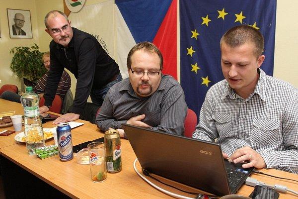 Volební štáb ČSSD