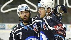 Hokejisté Plzně jasně vyhráli na ledě posledního Chomutova 9:2.