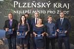 Hejtman Plzeňského kraje předal Ceny za záchranu života