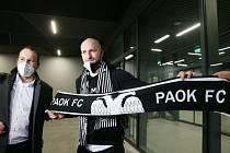 Michael Krmenčík pečetil vítězství PAOKu Soluň na hřišti OFI Kréta (3:0).