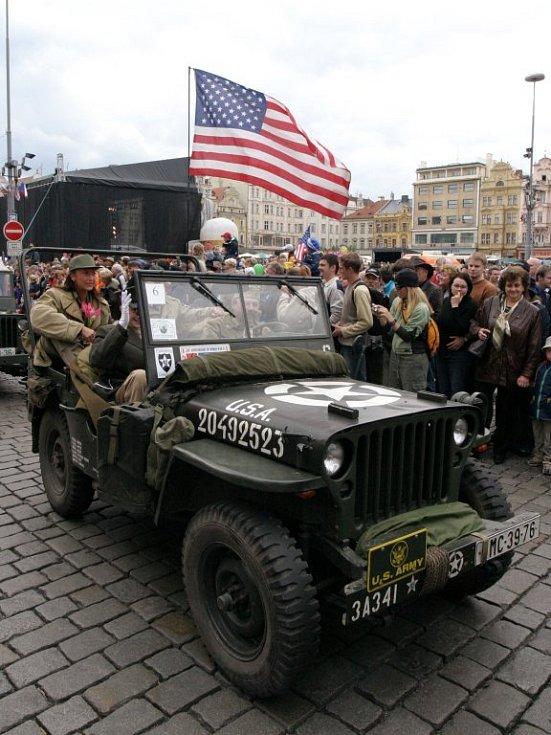 Historická vojenská vozidla jsou každoročním lákadlem