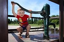 Lobezský park a vodní prvky