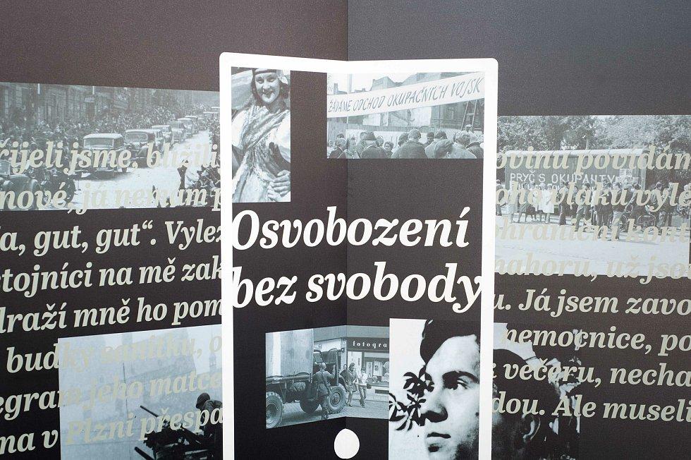 Výstava Osvobození bez svobody od Paměti národa.