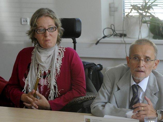 Renata Jeslínková a Václav Krása