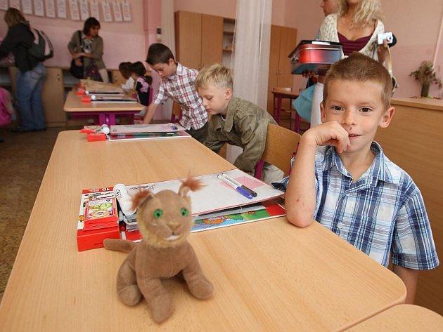 První školní den na 15. ZŠ v Plzni
