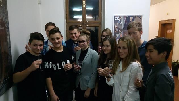 Vernisáž Západočeské galerie a 2. ZŠ Plzeň