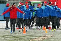 Viktoriáni začali přípravu na sněhu