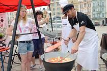 V Plzni proběhl druhý ročník Festivalu polévky v rámci Živé ulice