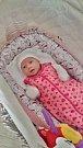 Veronika Procházková se narodila 4. dubna v 18:36 mamince Lucii a tatínkovi Pavlovi z Letkova. Po příchodu na svět vážila jejich prvorozená dcerka 3510 gramů a měřila 51 centimetrů