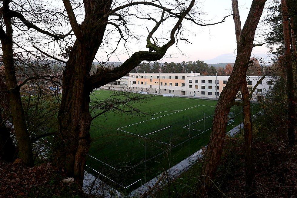 Rekonstrukce Sportovního areálu Prokopávka je hotová.
