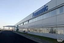Hlavní budova výrobního závodu Panasonic AVC Networks Czech v Plzni, největší výrobce televizorů v Česku.