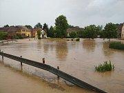 Blesková povodeň v Kotovicích