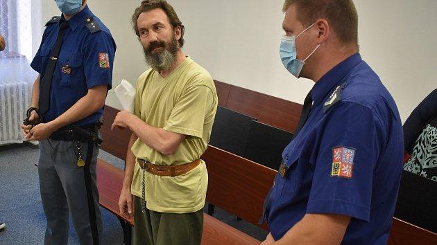 Krajský soud v Plzni potrestal Romana Vladaře za vraždu klatovského podnikatele Jiřího Žabky 16 lety
