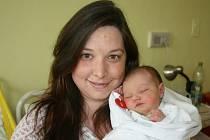 Kristýnka (3,25 kg, 50 cm) přišla na svět 29. dubna ve 12:10 v plzeňské nemocnici U Mulačů. Radost z jejího narození mají maminka Jiřina Hübnerová a tatínek Štefan Korbela z Plzně
