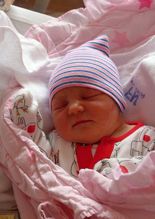Natálie Lebišová se narodila ve FN na Lochotíně 22. září v 16:54 hodin (3750 g). Rodiče Veronika a Ondřej z Plzně věděli, že jejich prvorozené miminko bude holčička.