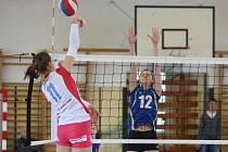 Extraliga juniorek Slavia VŠ Plzeň - VK prostějov