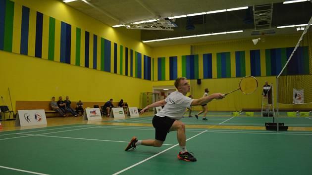 Jan Viktora (BA Plzeň) bodoval ve dvouhře v obou víkendových utkáních badmintonové extraligy.
