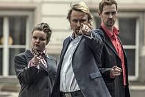 Třetí série Kanceláře Blaník odstartovala 27. března a v úvodní epizodě si zahráli i hudebníci z kapely Mňága a Žďorp, Petr Fiala a Martin Knor