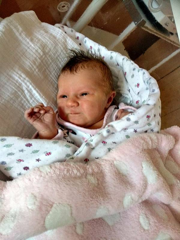 Julinka Vavřincová z Hnačova se narodila v klatovské porodnici 26. dubna v 15:02 hodin (3240 g,50 cm). Rodiče Barbora a Michal věděli dopředu, že jejich prvorozeným miminkem bude holčička. Tatínek byl u porodu.