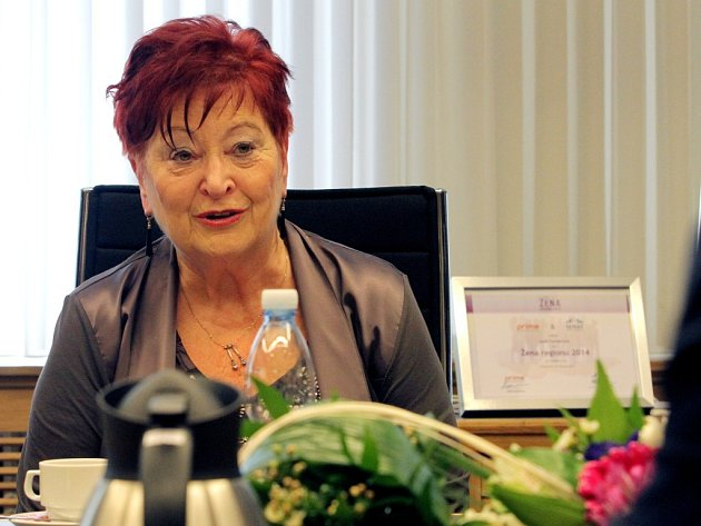 Jana Flanderová se oficiálně stala Ženou regionu pro rok 2014.