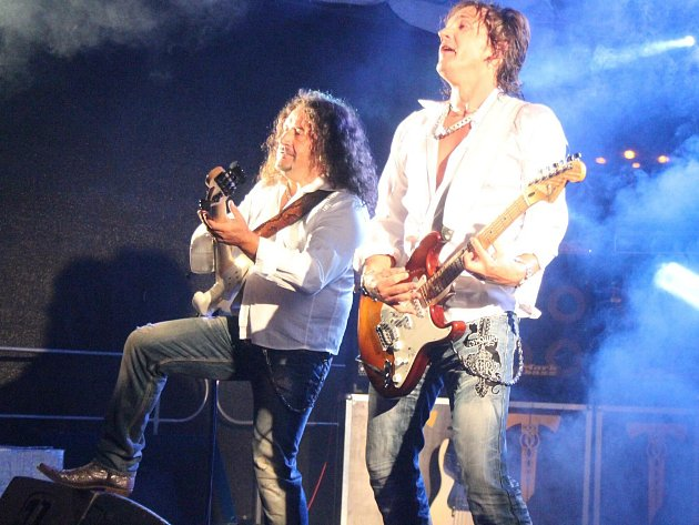 Tublatanka na koncertě v Klatovech.