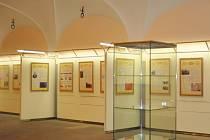 Výstava 1OO let symbolů české státnosti.