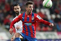 Gólově se ve včerejším utkání neprosadil ani plzeňský záložník Milan Petržela (na snímku) a Viktoria doma v Gambrinus lize remizovala se Slováckem 0:0.