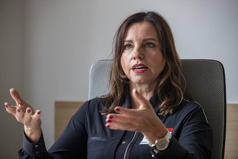 Ivana Mádlová poskytla 24. září v Praze rozhovor Deníku.