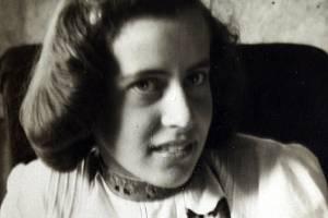 Marie Antošová na archivním snímku.