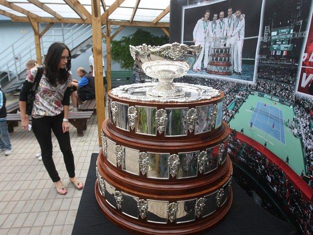 Výstava Davis Cupu v Plzni