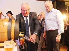 Oslava 175 let zrodu plzeňského piva ve Vilshofenu.