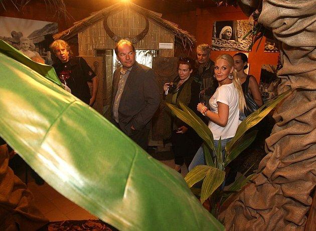 Otevření stále expozice cestovatelů Miroslava Zikmunda a Jiřího Hanzelky v plzeňské zoo