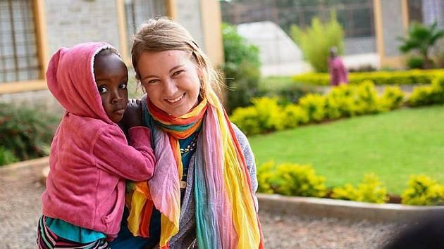 Jana Vlčková v Africe