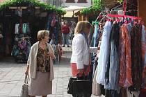 Svatováclavské trhy na náměstí Republiky v Plzni