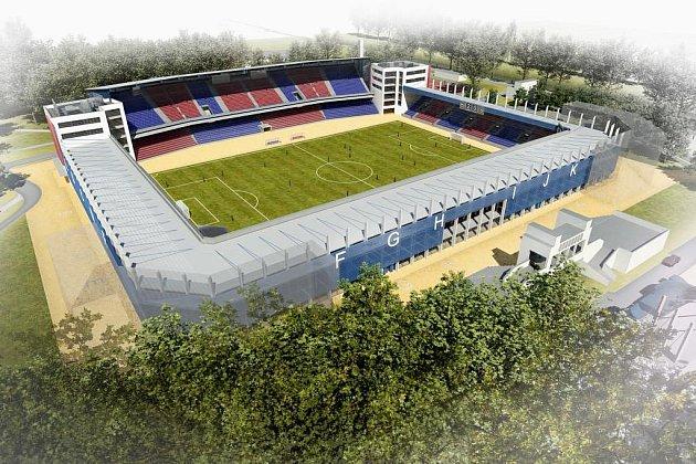 Vizualizace fotbalového stadionu