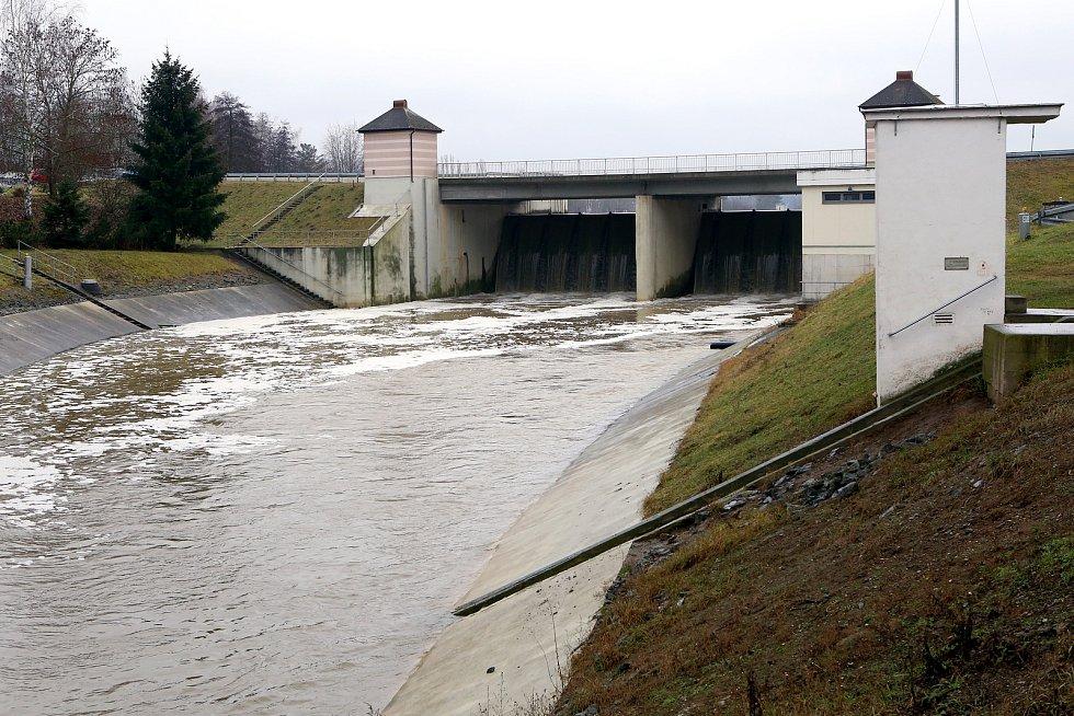 Vodní nádrž České údolí