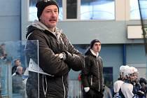 Trenér staršího dorostu HC Škoda Plzeň Michal Straka
