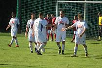 Fotbalisté Klenčí v zápase II. třídě.