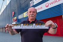 Zahájení prodeje lístků na Evropskou ligu. Na snímku Pavel Havlík