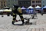 VII. ročník hasičské soutěže o Pohár ředitele HZS Plzeňského kraje v disciplínách TFA - nejtvrdší hasič přežije v Plzni na náměstí Republiky.