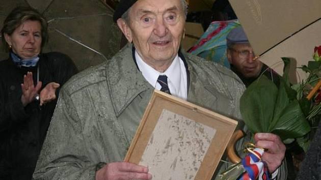Stanislav Hnělička během letošních oslav v Kasejovicích