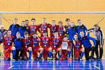 Mladíci Viktorie skončili na turnaji v Plzni druzí.