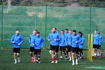 Fotbalisté Viktorie Plzeň se na soustředění ve španělské Esteponě připravují na první přátelská utkání.