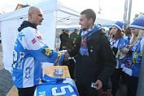Michal Dvořák se loučí s fanoušky