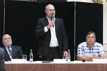 Na fotografii zleva Karel Svoboda, Martin Zrzavecký a Ota Rubner