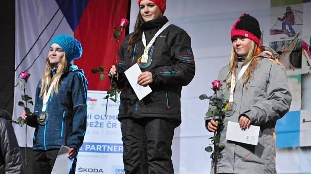 Barbora Zíková získala v paralelním slalomu zlato