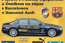Vyhrajte a vyražte na domácí zápas Viktorie Plzeň a Barcelony v plzeňském dresu a limuzínou Audi