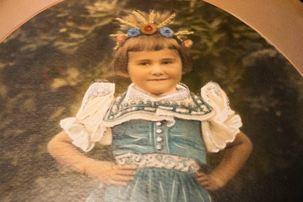 Karolina Čermáková jako dítě.